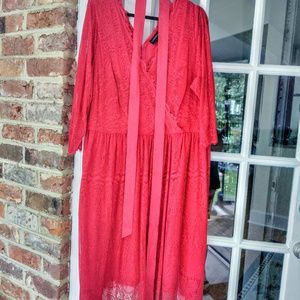 Red Lace Dress 24